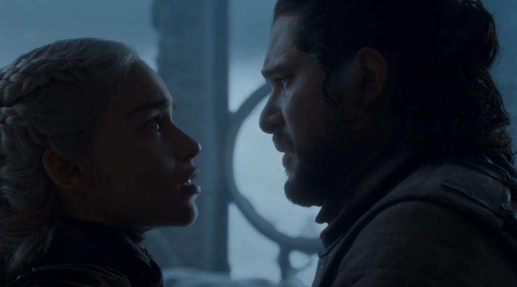 Jon mata a Daenerys